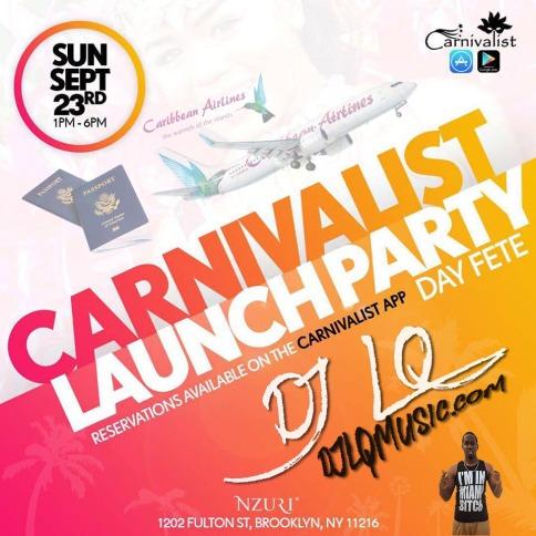 Carnivalist Launch Mix